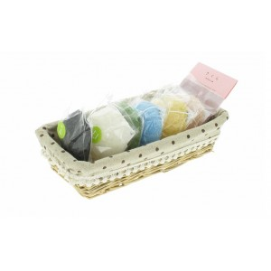 Set de 6 éponges Konjac avec savon et aburatorigami