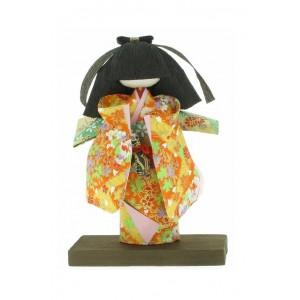 Figurine : Japonaise en Kimono