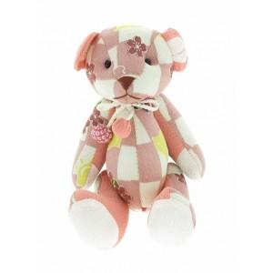 Petit ours en chirimen, Rose