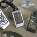 Pendentif traditionnel japonais en aluminium