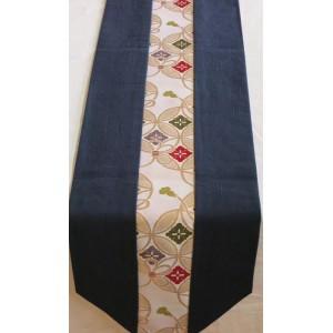 Centre de Table en Obi de Kimono