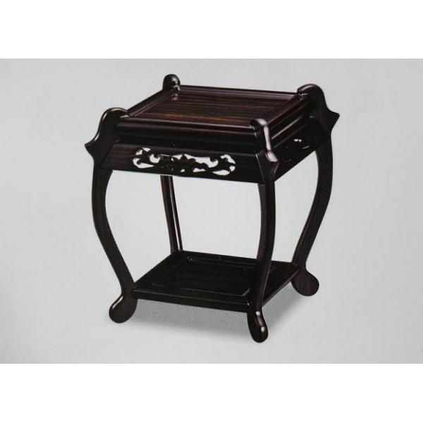 Table en bois laqu for Petit meuble japonais
