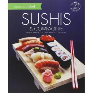 """Livre de recettes japonaises """"Sushis et compagnie"""""""