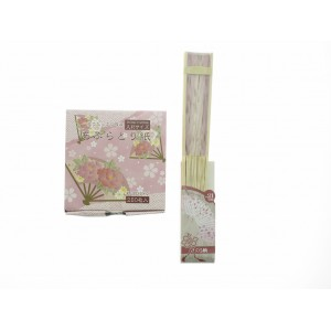 Set Aburatorigami et éventail Sakura