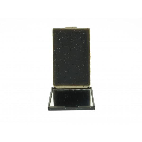 Mini miroir de poche avec le dessus en chirimen color for Miroir japonais