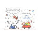 Calendrier Hello Kitty 2016