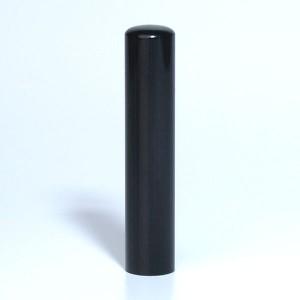 """Hanko en bois """"Saika"""" noir"""