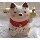 Tirelire Manekineko (céramique)