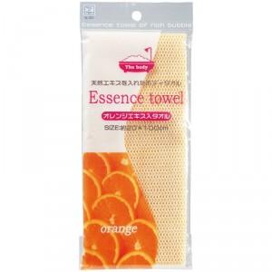 "Serviette ""Body Towel"" (extraits Orange)"