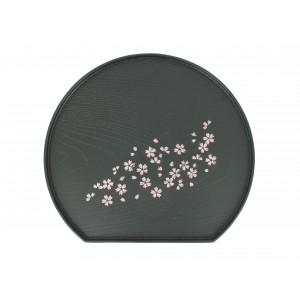 Plateau Sakura rond (avec base plate)