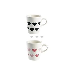 """Mug qui change de couleur - """"Coeur"""""""