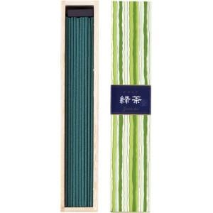 Encens au Thé Vert 40 bâtonnets et porte-encens