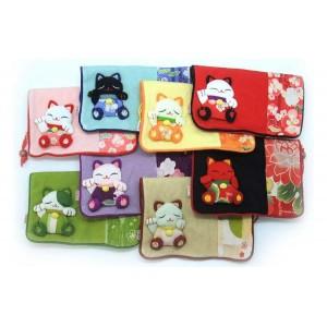 Pochette en tissu japonais