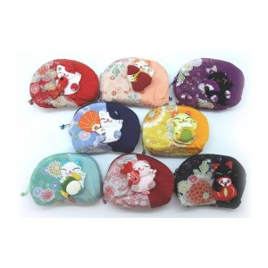 Trousse en tissu japonais