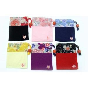 Mini pochette en tissu japonais