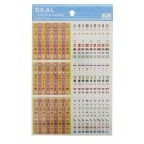 Seals (stickers) &quot;Rendez-vous&quot; 