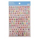 Seals (stickers) &quot;Alphabet-Desserts&quot;