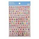 """Seals (stickers) """"Alphabet-Desserts"""""""