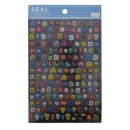 Seals (stickers) &quot;Alphabet&quot;