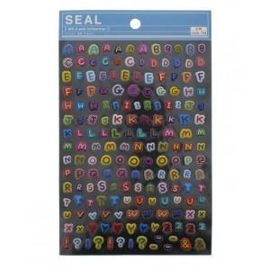 """Seals (stickers) """"Alphabet"""""""