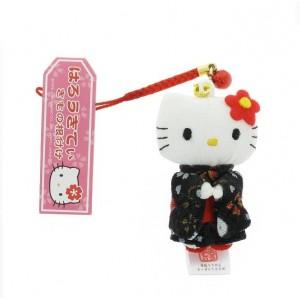 Hello Kitty - Kimono noir