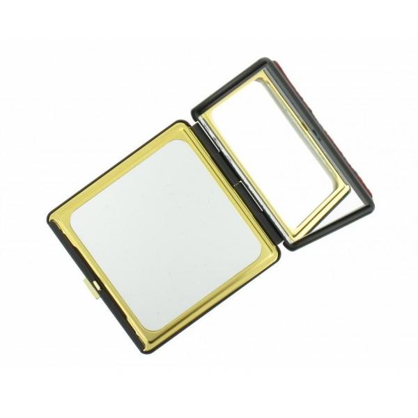 Miroir de poche en cuir for Miroir japonais
