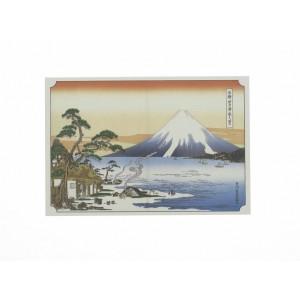 Carte/Décoration Mont Fuji