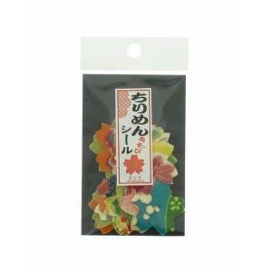 Stickers en Chirimen - Sakura