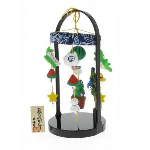 Mobile japonais - Décoration en céramique