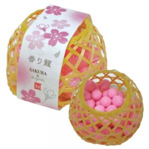 Désodorisant - Petit Panier - Sakura