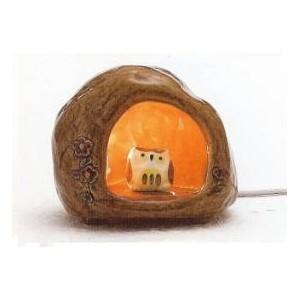 Lampe en céramique - Hibou