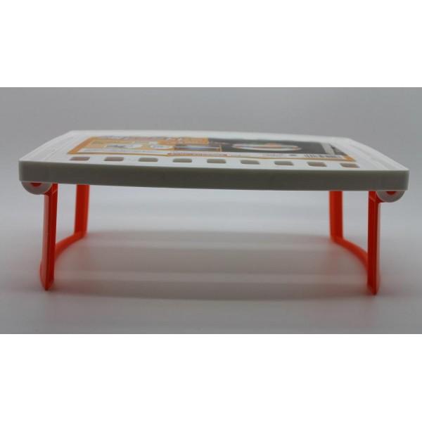 plateau sur lev pliable pour micro ondes. Black Bedroom Furniture Sets. Home Design Ideas