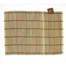 Set Bambou (couleur bois de cerisier) 38 x 28 cm