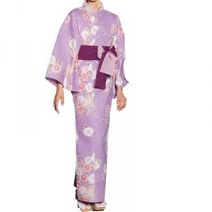 Kimono mauve