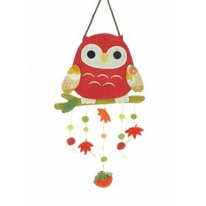 Mobile japonais - Hibou rouge