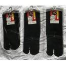 Paire de chaussettes - Tabi (noires)