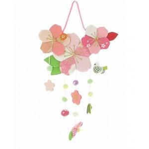 Mobile japonais - Fleurs et Oiseau