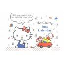 Calendrier Hello Kitty 2016