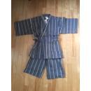 Jinbei bleu et gris