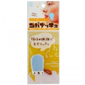 """Mini """"gant"""" de toilette pour le nez"""