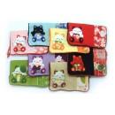 Pochettes en tissu japonais (pliées)