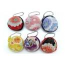 Mini porte-monnaie en tissu japonais