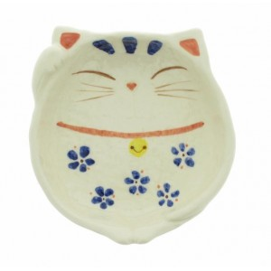 Repose cuiller en céramique - Chat