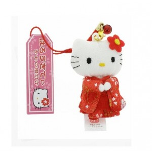 Hello Kitty - Kimono rouge
