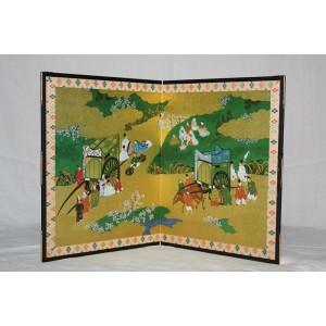 Byobu (folding screen) - Sekiyazu