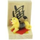 Figurine en verre - Signe Zoodiaque Chinois - Le Tigre