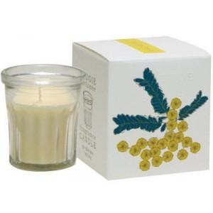 Bougie Parfum Mimosa, cire de Soja