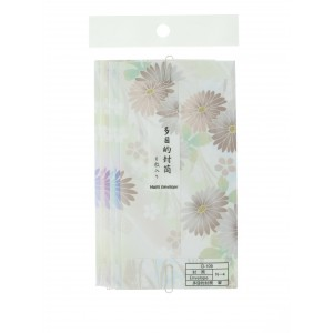 Enveloppes fleurs